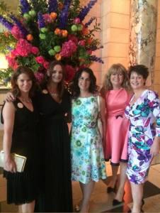 Left to right: Hazel Gaynor, Me, Michele Gorman, Carmel Harrington, Fionnuala Kearney