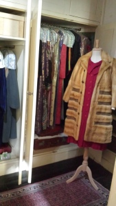 One of Agatha Christie's famous fur coats.